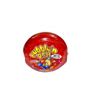 Bubble N'Roll Chewing Gum 1m80 Fraise